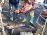 秋祭りの焼き肉
