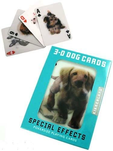 3-D DOG CARDS トランプ