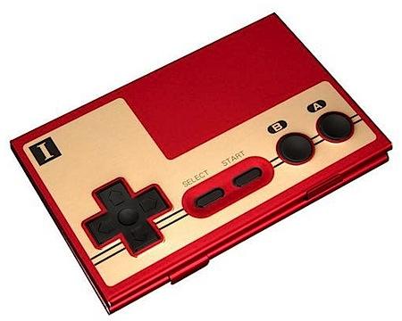 ファミコンコントローラー型の名刺ケース