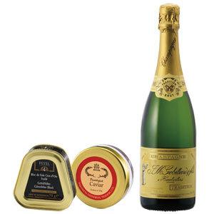 世界三大珍味とシャンパンのグルメBOX