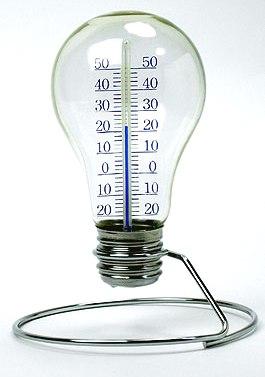 電球温度計