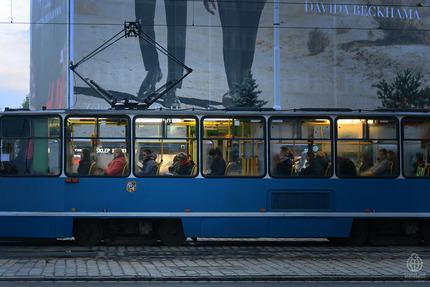 ポーランド通勤電車1