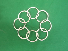 8個のリング