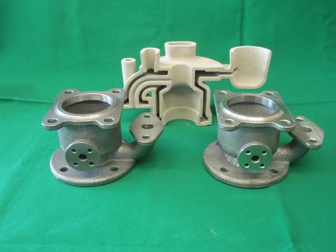 高耐熱性鋳型と鋳造品