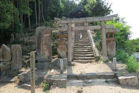 石畳神社 鳥居