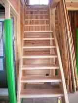 無垢板階段