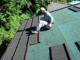 コロナ屋根葺き