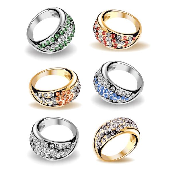 結婚指輪 Wedding rings illustrations イラスト素材