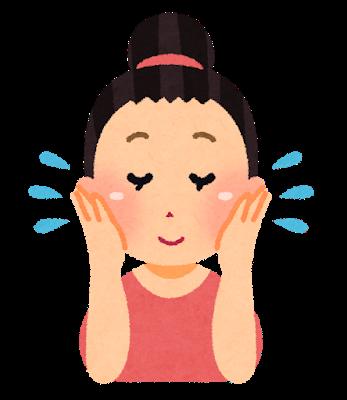 【相談】顔全体の肌が荒れてる。暫くメンソレータムつけてたら治るかな?