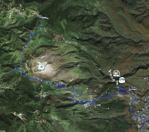 渋峠MAP