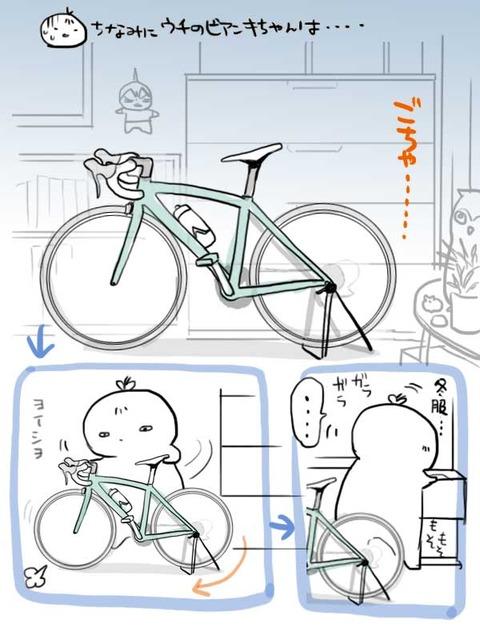 自転車置き場所