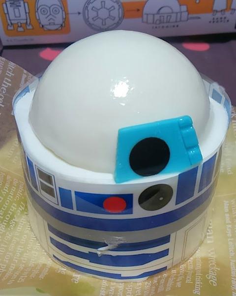 R2D2ケーキ