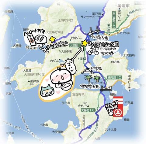 大三島MAP