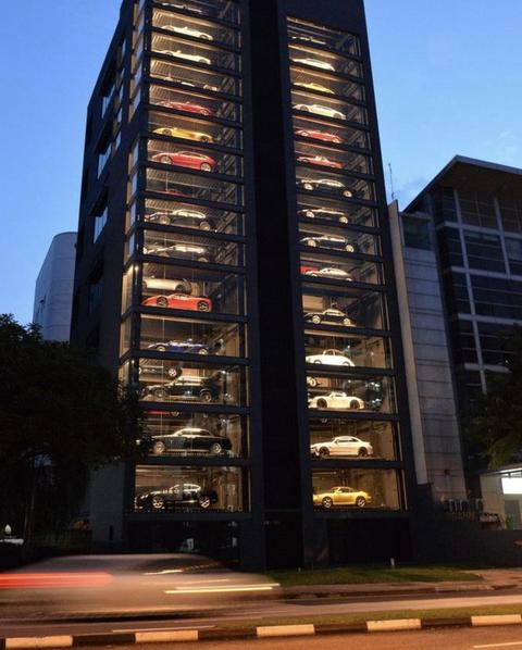 高級車の自動販売機