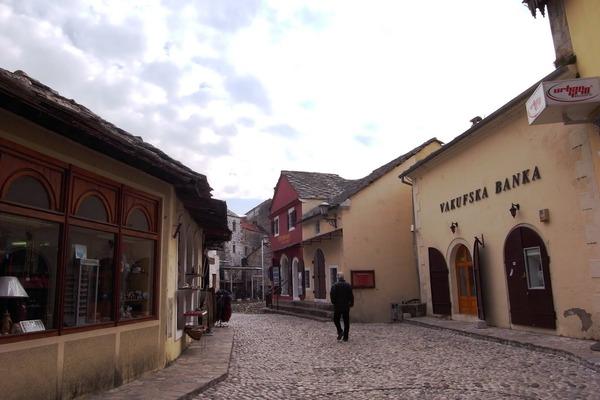 モスタルの旧市街地