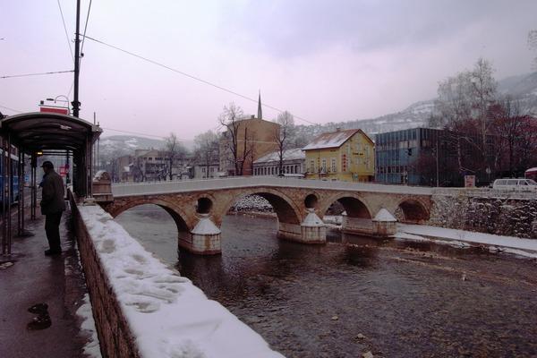 サラエボ事件で有名なラテン橋