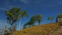 日出ヶ岳の青空