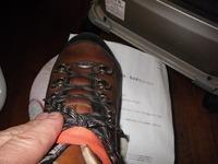 登山靴の修正3