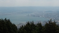 比叡より琵琶湖