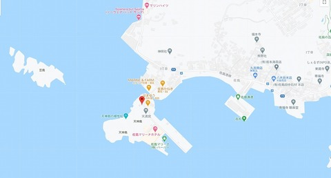 天神島MAP