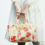 花柄トートバッグ【いわさきちひろ PREMIUM BOOK e-MOOK 】