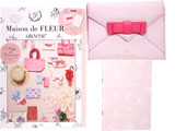 Maison de FLEUR BOOK 《付録》 ラブレター型マルチケース&ピンクノートブック