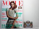 VOGUE JAPAN (ヴォーグ ジャパン)2012年 05月号 《付録》 ロンシャン×メアリー・カトランズ特製プリントパスケース