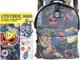 HYSTERIC MINI OFFICIAL GUIDE BOOK 2019 SPRING & SUMMER 《付録》 DENIM柄 バックパック