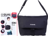 SILAS MESSENGER BAG BOOK 《付録》 ロゴ刺繍メッセンジャーバッグ