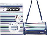 LESPORTSAC 2016 COLLECTION BOOK Style1 《付録》 ビーチ ストライプ柄 マルチポーチ