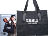 DSQUARED2 SPECIAL BOOK 《付録》 ビッグスクエアバッグ