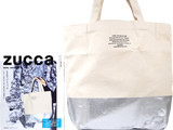 ZUCCa 2016-2017 《付録》 シルバープリント トートバッグ