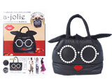 a-jolie QUILTING BAG BOOK BLACK ver. 《付録》 キルティングバッグ