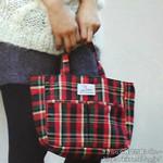 リンネル 2012年 11月号 《付録》 アーバンリサーチ ドアーズ 英国が薫るチェック柄バッグinバッグ
