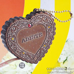 ゼクシィ 首都圏版 2012年 08月号 《付録》 ABISTE チョコビスケット型キラキラ☆メジャー