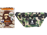 A BATHING APE® 2021 SPRING COLLECTION 《付録》 大容量ボディバッグ