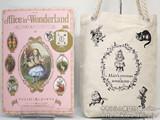 Alice in Wonderland 不思議の国のアリスのすべて 《付録》 クイーンアリスのキャンバスバケットトート