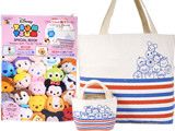Disney TSUM TSUM SPECIAL BOOK-Always with TSUM TSUM- 《付録》 ツムツムの親子トート