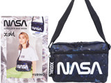 NASA SHOULDER BAG BOOK presented by X-girl 《付録》 宇宙柄ショルダーバッグ