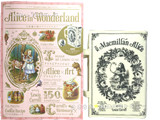 Alice in Wonderland 不思議の国のアリスのひみつ 《付録》 Bag in Wonderland ブック形バッグ