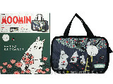 MOOMIN ムーミン公式ファンブック 2014-2015 ver.1 ムーミン 《付録》 ムーミン&仲間たちのバッグインバッグ&チャーム