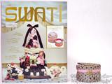 SWATi ポップでキュートなキャンドルの世界 《付録》 イチゴの香りのキャンドル&プチバニティ