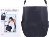 LAGUNAMOON ONE HANDLE BAG BOOK 《付録》 ワンハンドルレザー調3ポケットバッグ
