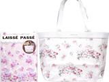 LAISSE PASSE 《付録》 フラワープリント トートバッグ
