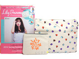 Lily Brown 2014 Spring/Summer Collection 《付録》 クラッチバッグとしても使える!キャンバスポーチ2個SET