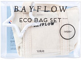 BAYFLOW ECO BAG SET BOOK IVORY 《付録》 1.エコバッグ 2.ミニミニトート 3.星カラビナ