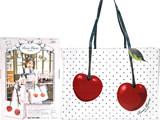 "RoseMarie seoir Cherry Shopper Bag Book 《付録》 ""まるで紙袋""なレザー調のトートバッグ"
