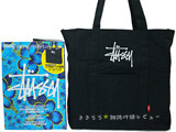 STUSSY 2014 SPRING COLLECTION 《付録》 ロゴ刺繍入り大容量トートバッグ