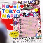 Zipper (ジッパー) 2013年 09月号 《付録》 Kawaii♥ TOKYO MAP