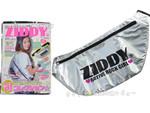 ZIDDY オフィシャルファッション BOOK 《付録》 ふかふかシルバーボディバッグ